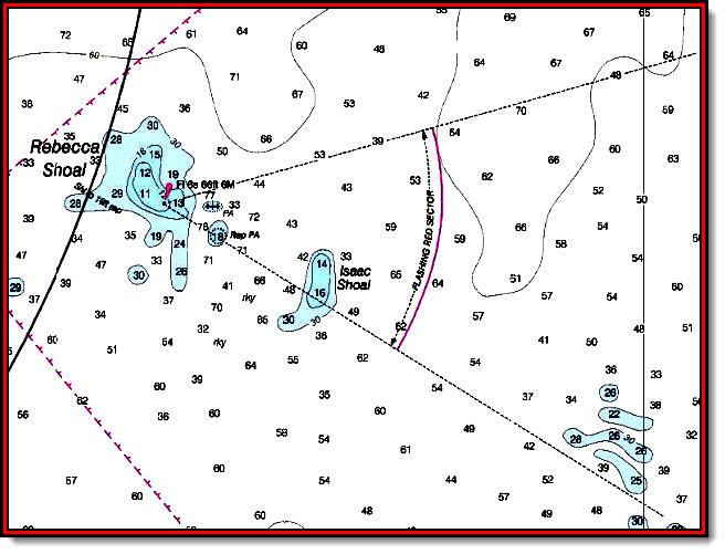 Sailing Navigation Chart Symbols Light Sector Secrets