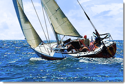 How to Sail Faster on Reaches!