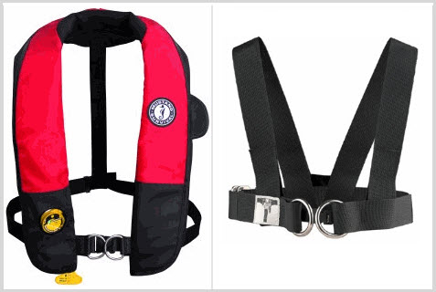 how to make your sailing harness heavy weather ready! Laptop Harness